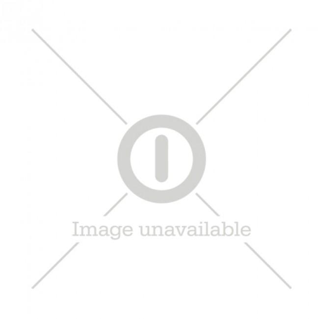 GP ReCyko Charger (USB) E811, 8- ladespor NiMH, 4 x AA 2100mAh + 4 x AAA 850mAh NiMH-batterier