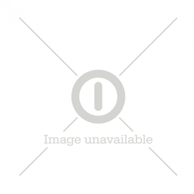 Metal floor display double-sided extension, green